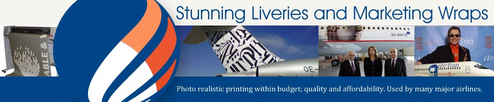 Stunning aircraft liveries and marketing wraps